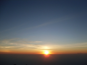 Sunrise @lawu